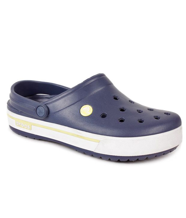 37aa9ae6b0c7f Crocs Navy Clog Shoes - Buy Crocs Navy Clog Shoes Online at Best ...