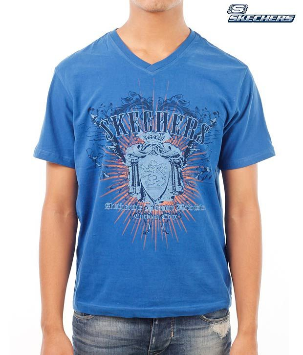 Skechers Cool Royal Blue T-Shirt