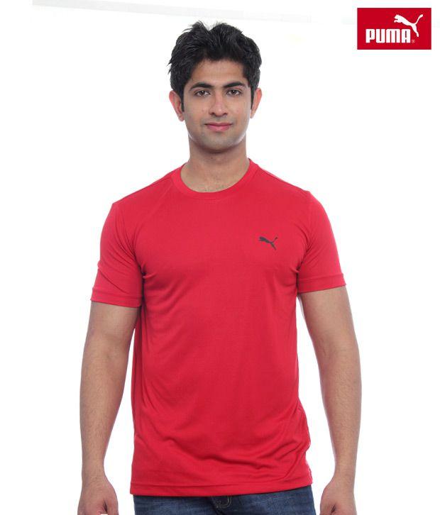 Puma Red T-Shirt-PU50928101RD