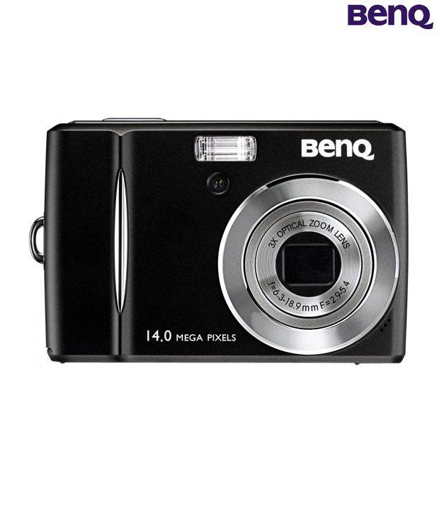 BenQ C1430 14MP Point & Shoot Camera (Black)