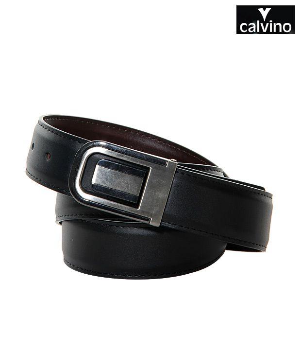 Calvino Brown Leather Belt- CT-T-009Brown