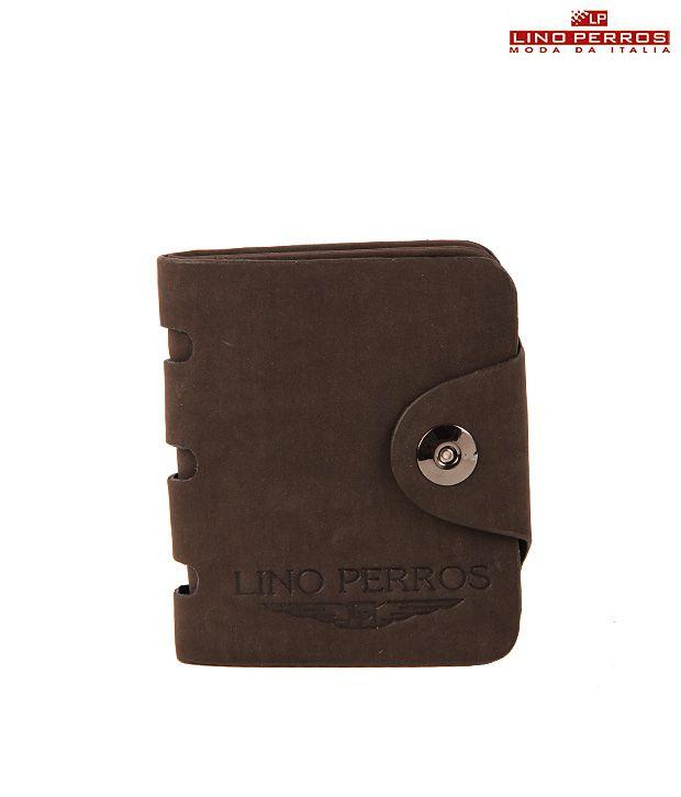 Lino Perros Soft Brown Wallet