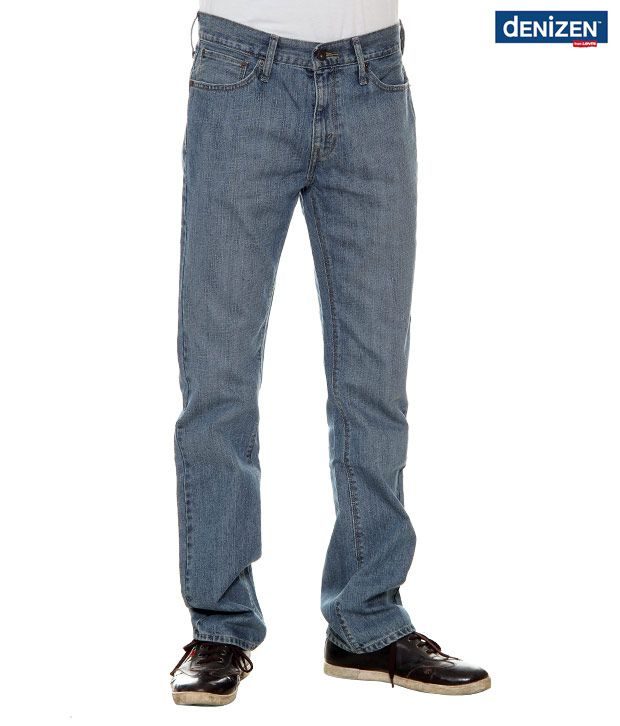Denizen Regular Fit Light Blue Jeans (30252-0118)