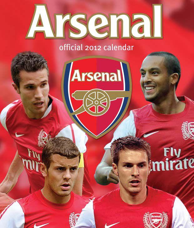 Arsenal Fc 2012 Football Calendar