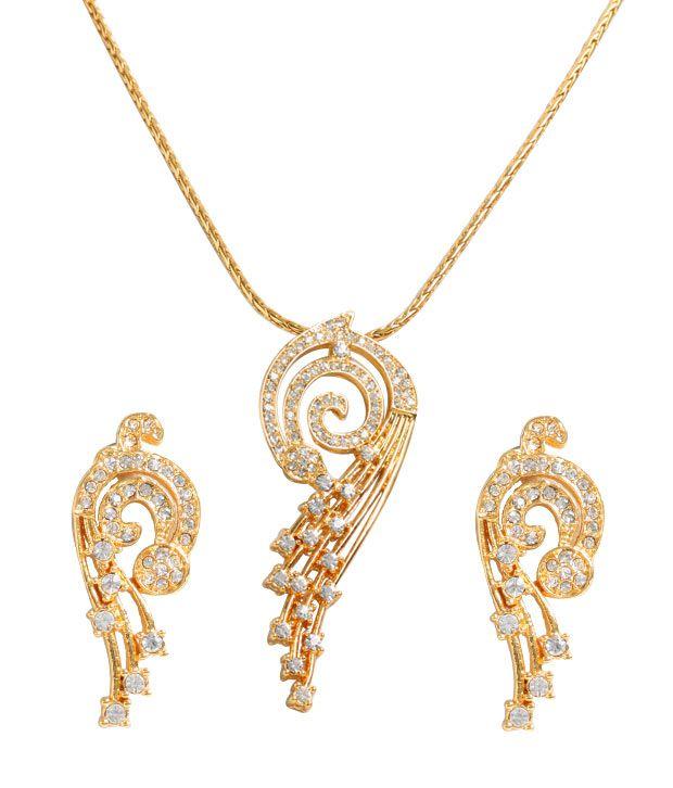 Mystic Diamond Chakri Pendant Set