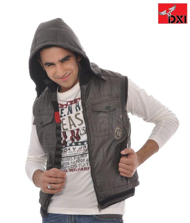DXI Winter Wear Jacket For Men- X1901 Brown