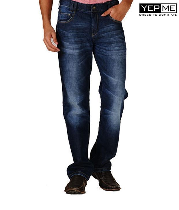 Yepme Jason Med Wash Jeans YPMJEAN0009