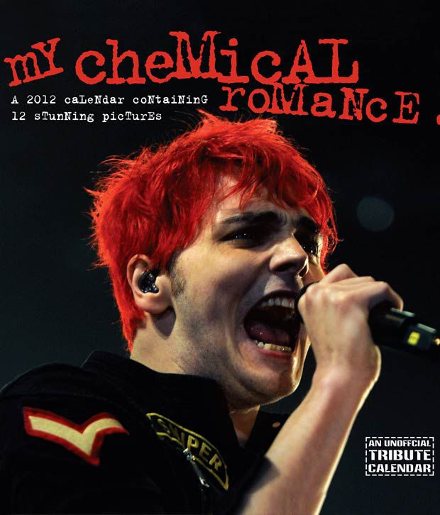 Chemical Romance Music 2012 Calendar