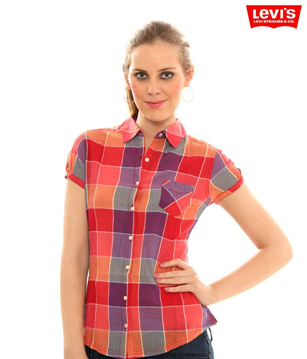 Levis Soothing Checkered Shirt(50189-0004)