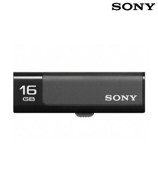 Sony Micro Vault Classic 16GB (Black)