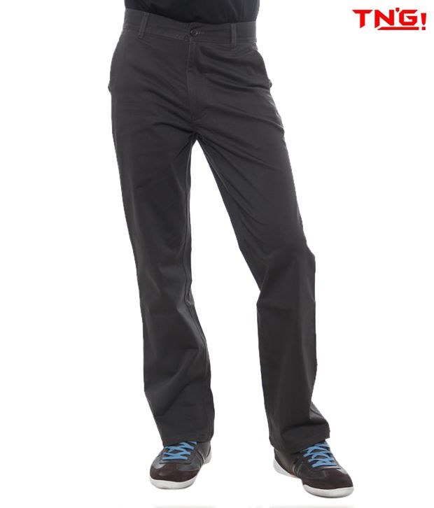 TN'G Corduroy Trousers-TJGN-7776-GY