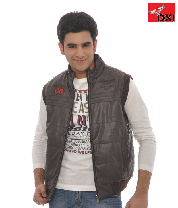 DXI Winter Wear Jacket For Men- X1935 Brown