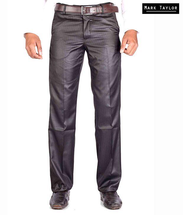 Mark Taylor Formal Brown Trouser MTTR002376