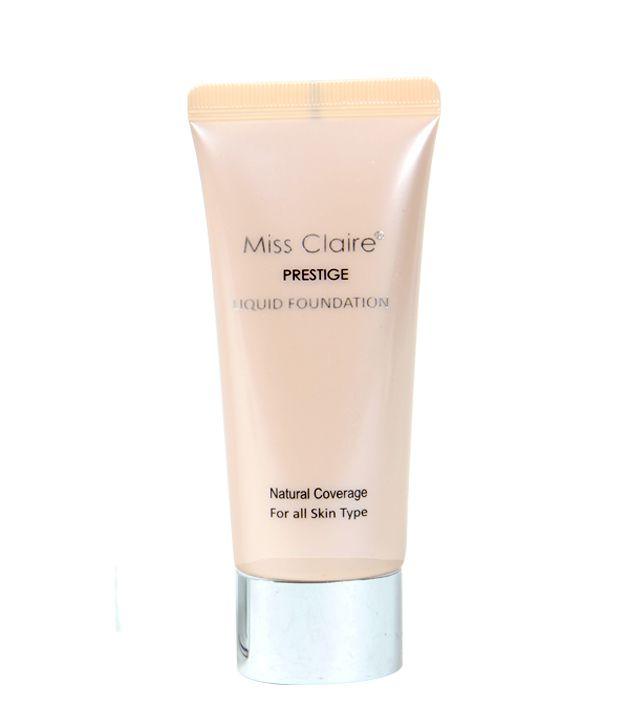 Miss Claire Prestige Liquid Foundation Natural Beige 21(Perfectcoverage)