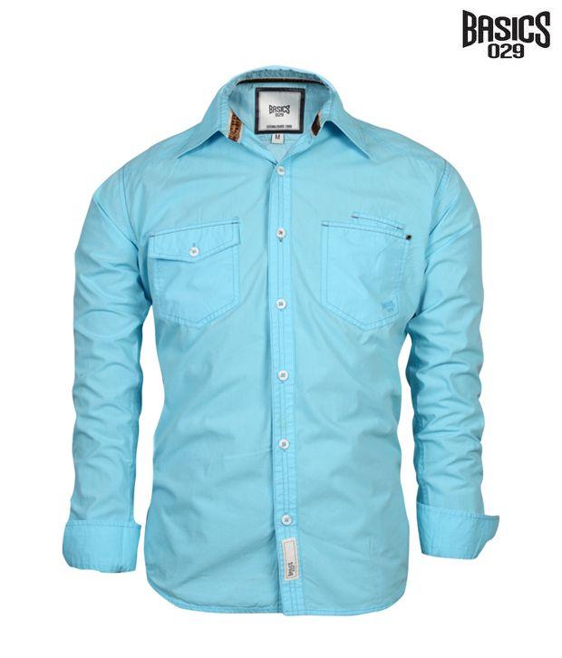 BASICS 029 Shirt 10BSH23150-AQ-LS