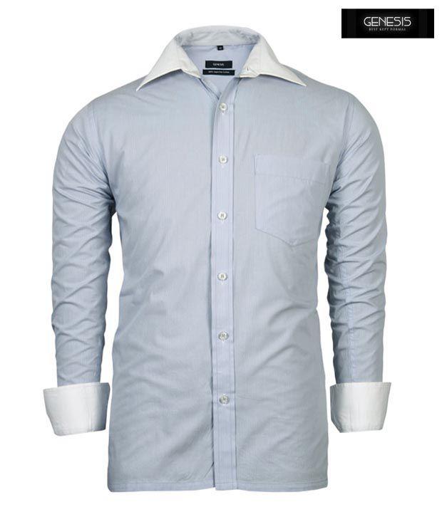 GENESIS Shirt 10GSH23424-LGY-LS
