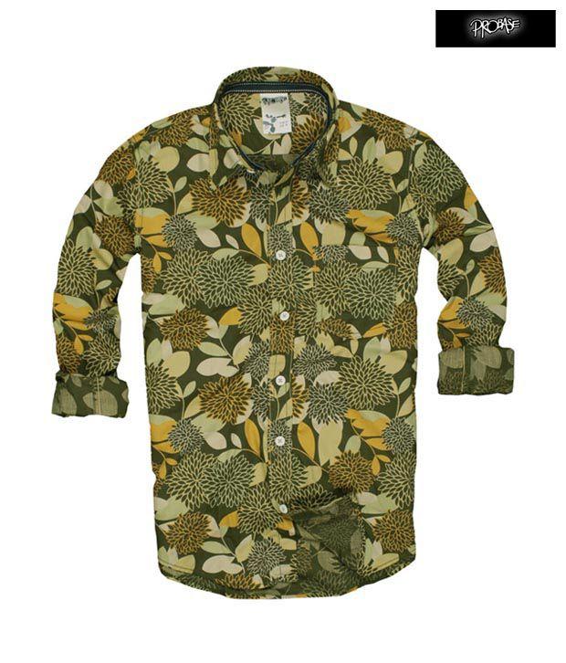 PROBASE Shirt 10PSH22821-GR-LS