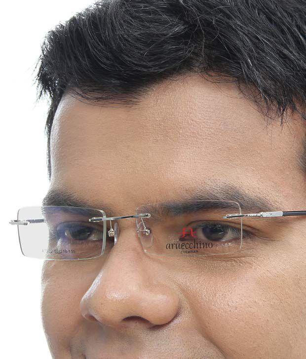Aruecchino Sophisticated Silver Eyewear