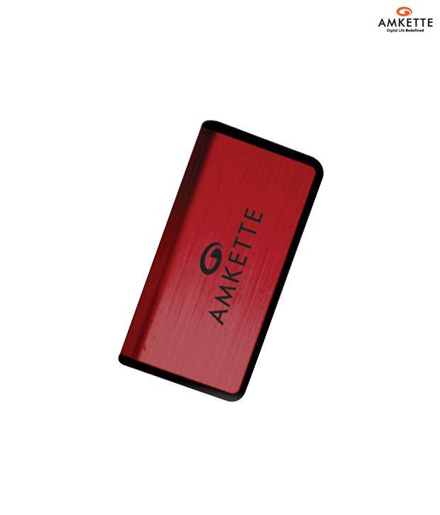 Amkette Metal Tuff 8 GB Pen Drive (Maroon)