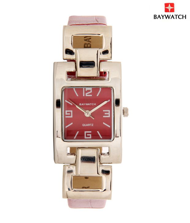 Baywatch Bright Red Watch