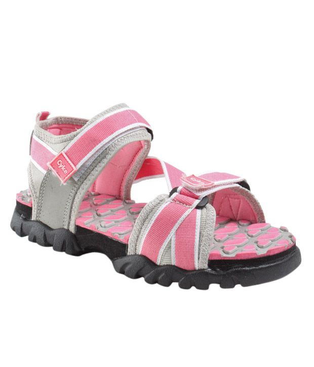 Cyke Spirited Pink & Grey Floaters