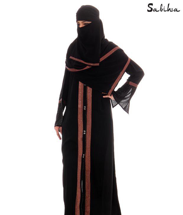 Sabiha Serene Black Abaa (IQSJSAB0003)