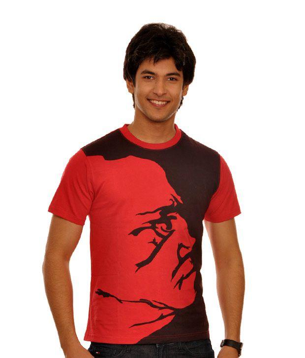 Teesort Red T-Shirt (TEE02-RED)