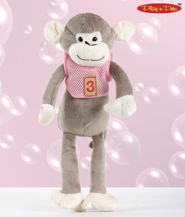 Play-n-Pets Cute Monkey Soft Toy