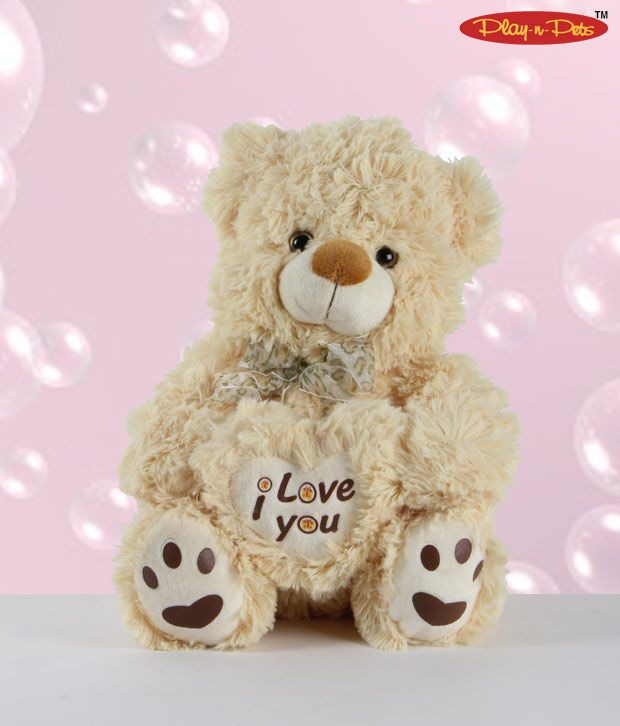 Play-n-Hairy Bear Soft Toy