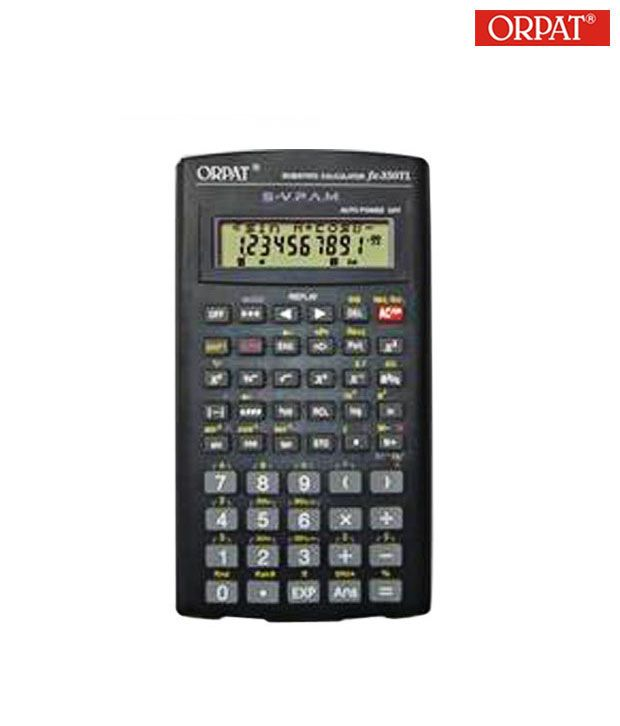 Orpat Fx-350TL Scientific  Calculator