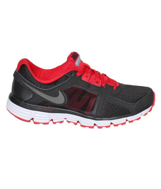 16b38f677c8 Nike Dual Fusion ST 2 Black   Red Running Shoes - Buy Nike Dual ...