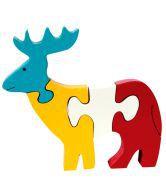 Skillofun Skillofun Take Apart Puzzle Reindeer