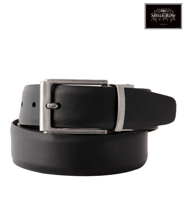 The Savile Row Exclusive Black & Brown Reversible Belt