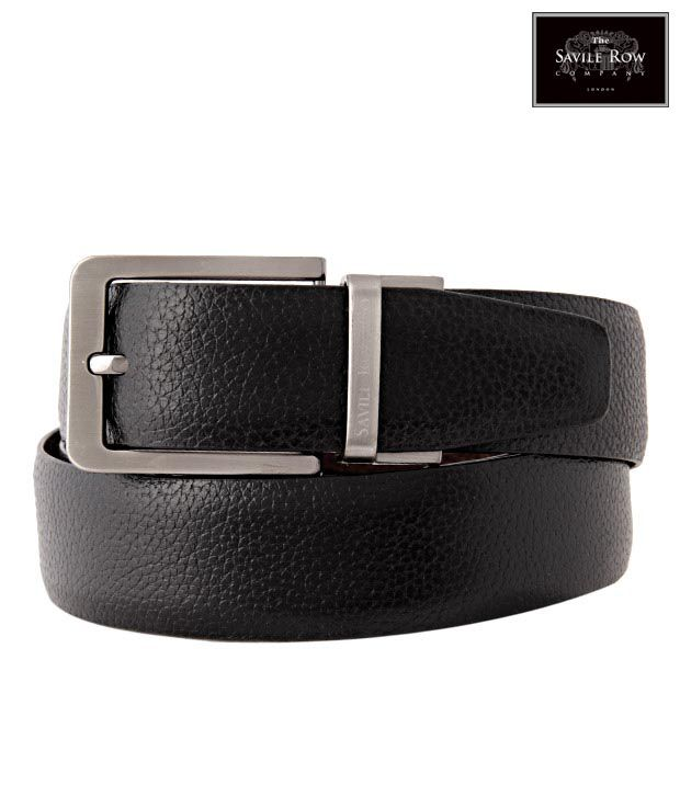 The Savile Row Trendy Black & Brown Reversible Belt