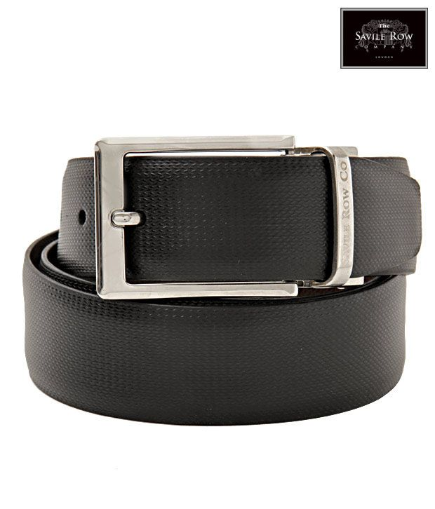 The Savile Row Swanky Black & Brown Reversible Belt