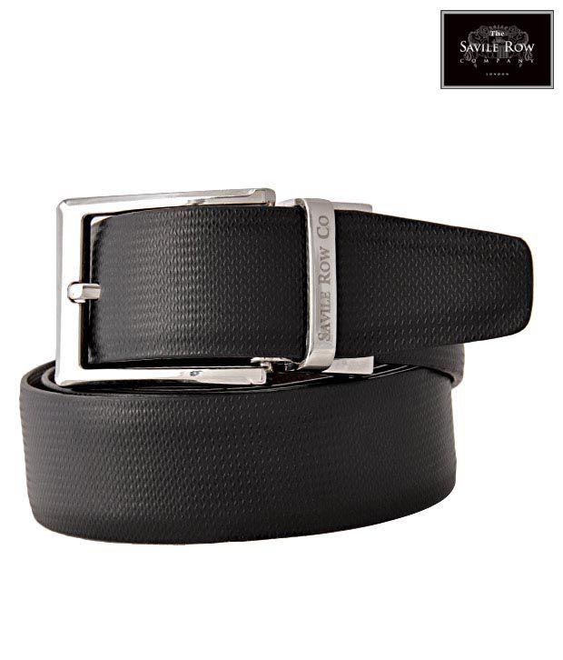 The Savile Row Lovely Black & Brown Reversible Belt