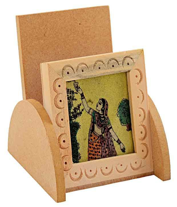 Rajrang Unique Gemstone Painting Mobile Holder