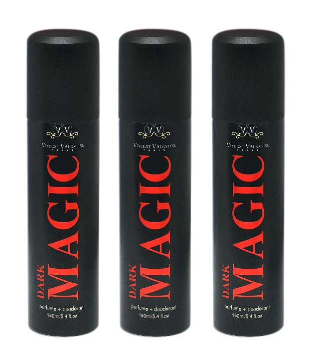 Vincent Valentine Paris Dark Magic Set of 3 160 ml Deodorant