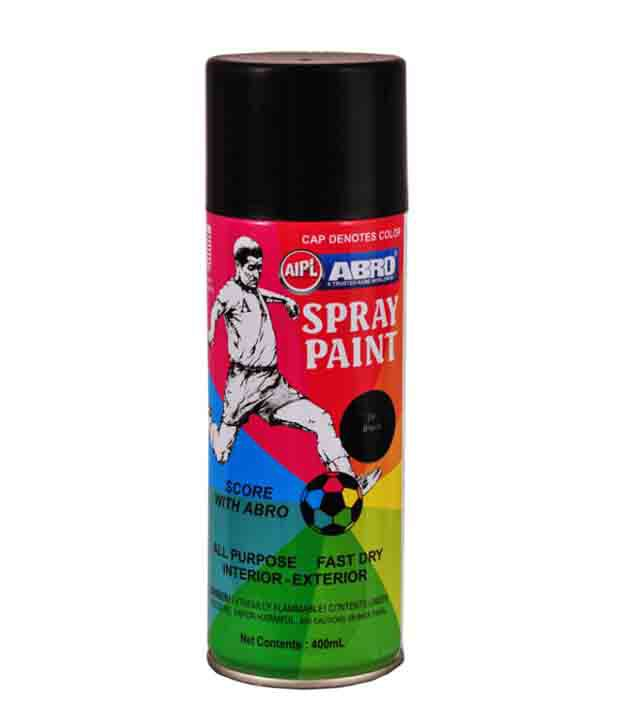 Abro Spray Paint Black Buy Abro Spray Paint Black