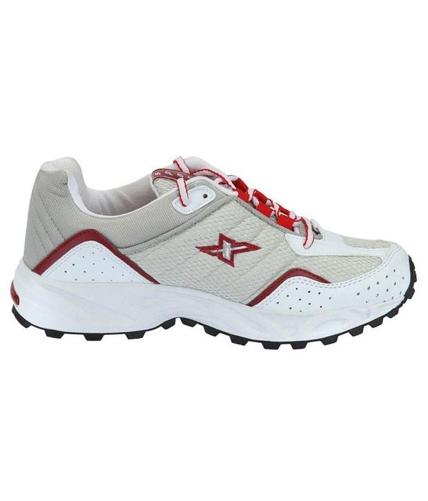 5a96ea30b Sparx Moving White   Red Sports Shoes - Buy Sparx Moving White   Red Sports  Shoes Online at Best Prices in India on Snapdeal