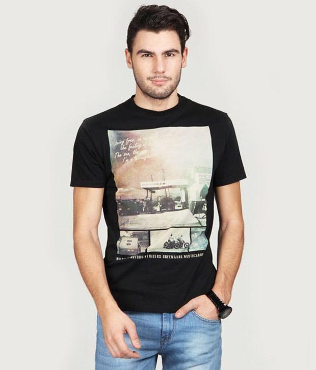 Wrangler Cool Black T-Shirt