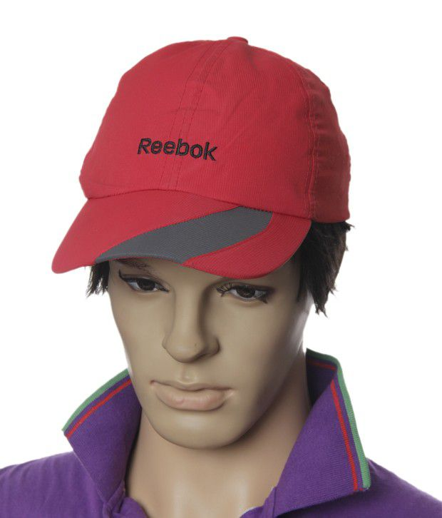 Reebok Splendid Red & Grey Cap
