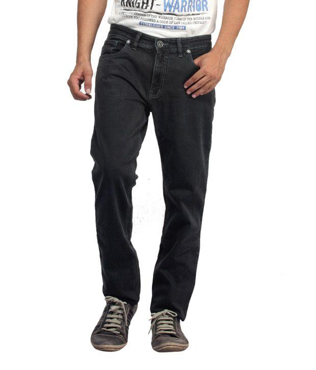 Monte Carlo Stylish Black Jeans