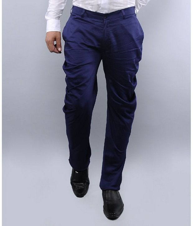 I Know Navy Trouser