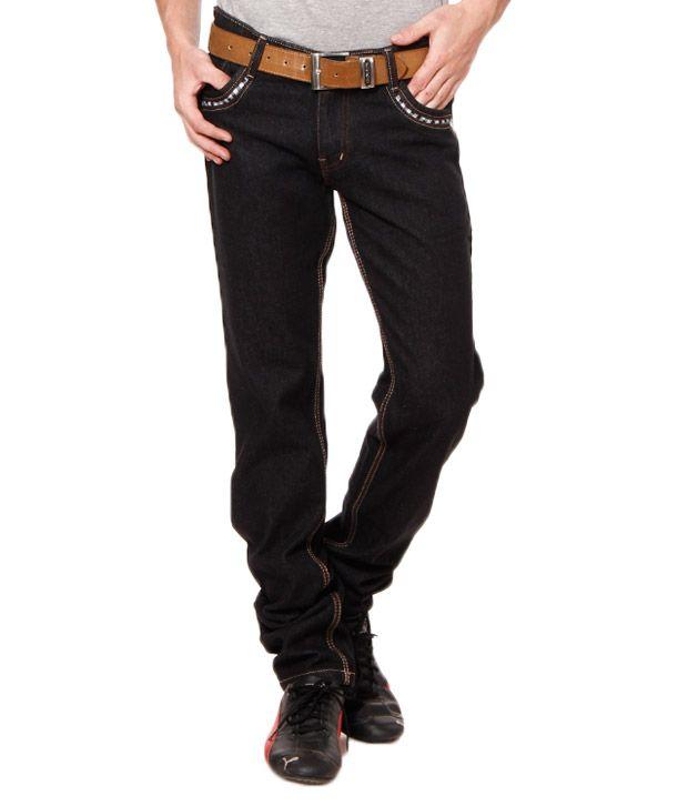 British Terminal Black Jeans