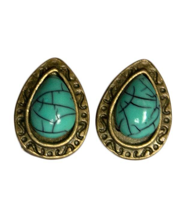 Kiosha Turquoise Drop Earrings