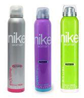 Nike Women Set Of 3 (Casual, Original, Extreme) Deodorants- 200ml Each