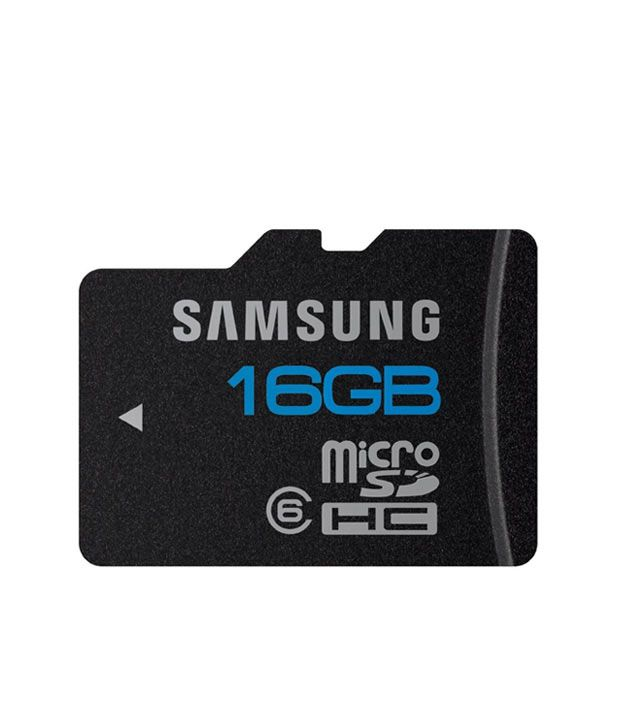 Samsung 16 GB Micro SD Card (Class 6)