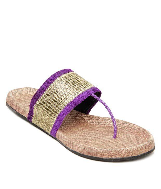 K22 Voguish Purple Flats