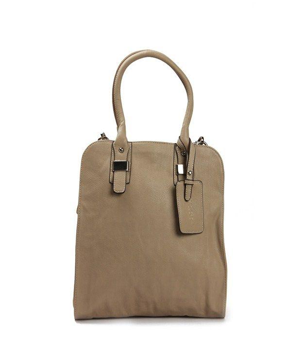 Khoobsurati Brown Casual Handbag